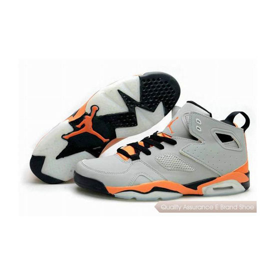 Nike Jordan Fight Club '91 Grey-Black/Orange Sneakers