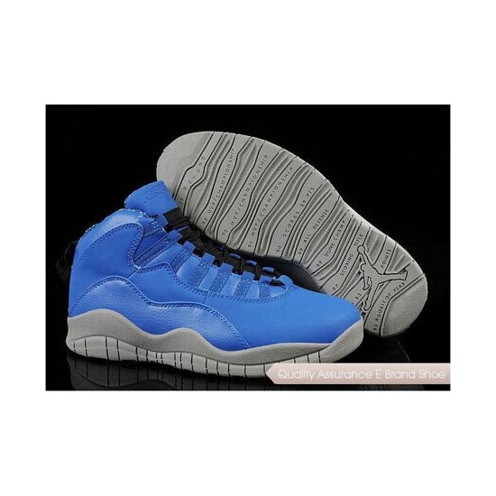 Nike Air Jordan 10 University Blue/White Sneakers
