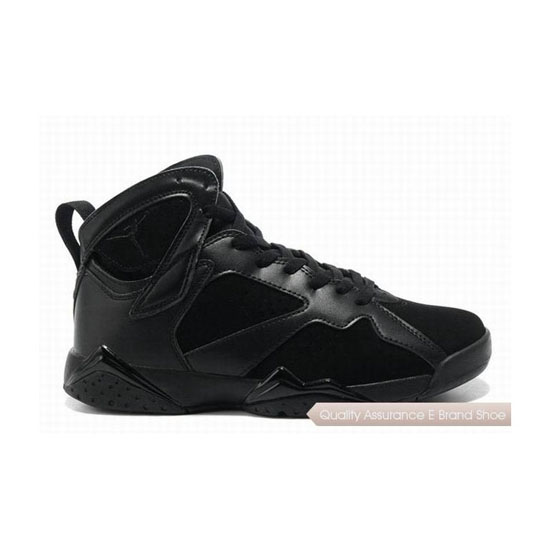 Nike Air Jordan 7 All Black Sneakers