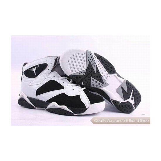Nike Air Jordan 7 Black-White Sneakers