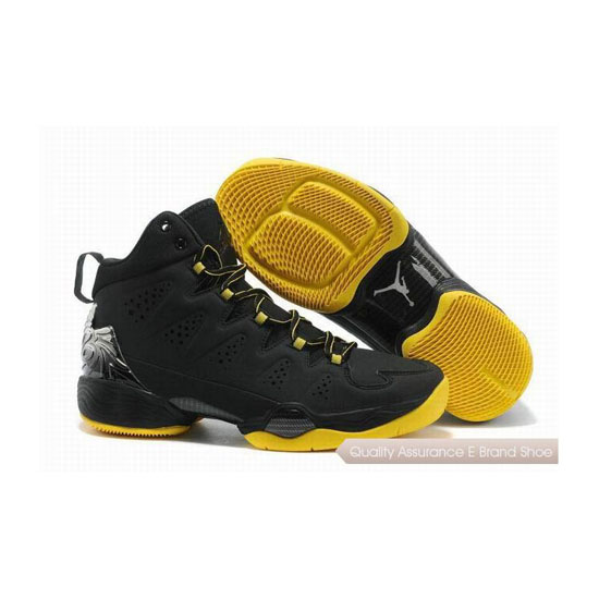 Nike Carmelo Anthony-Jordan Melo M10 Black-Anthracite-Yellow Sneakers