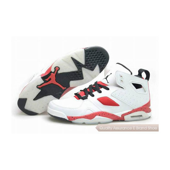 Nike Jordan Fight Club '91 White/Gym Red-Black Sneakers