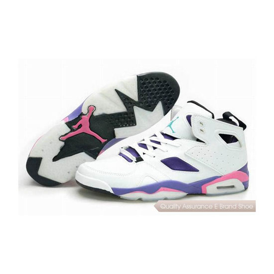 Nike Jordan Fight Club '91 White/Pink-Grape Ice-Black Sneakers