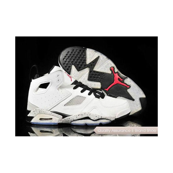 Nike Jordan Fight Club 91 White-Black/Matte Silver Sneakers