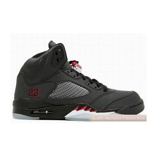 Nike Air Jordan 5 Retro Raging Bull Black Sneakers