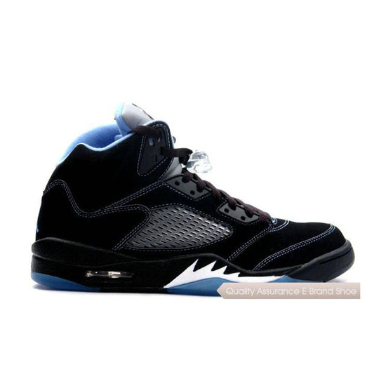 Nike Air Jordan 5 Retro LS Black/Blue/White Sneakers