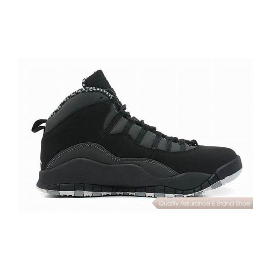 Nike Air Jordan 10 Stealth Sneakers