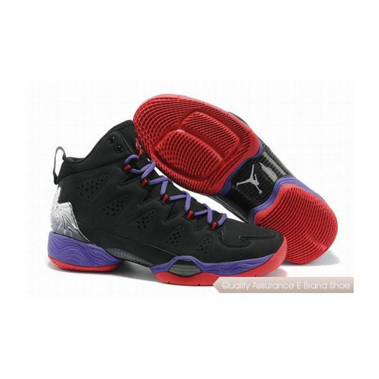 Nike Carmelo Anthony-Jordan Melo M10 Black-Purple-Red Sneakers