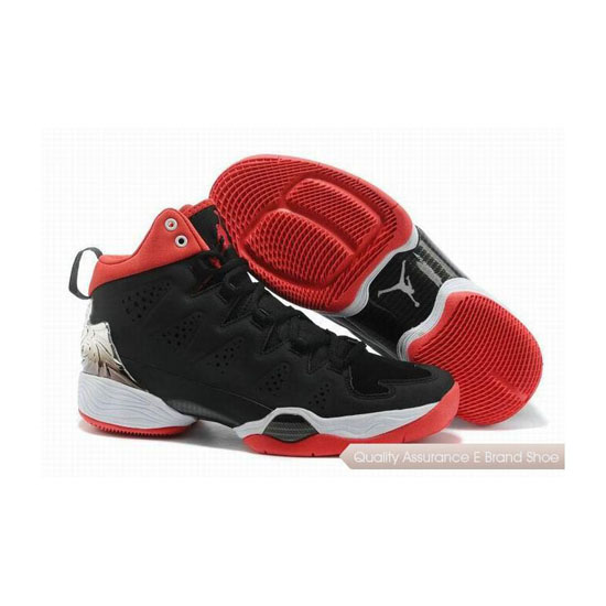 Nike Carmelo Anthony-Jordan Melo M10 Black-White/Gym Red Sneakers