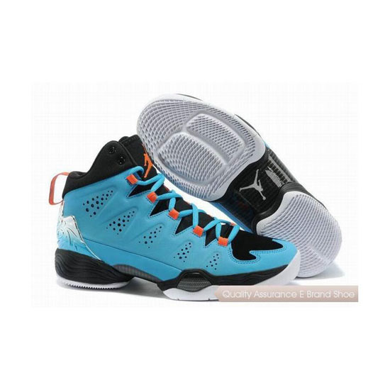 Nike Carmelo Anthony-Jordan Melo M10 Gamma Blue/Orange-White Sneakers