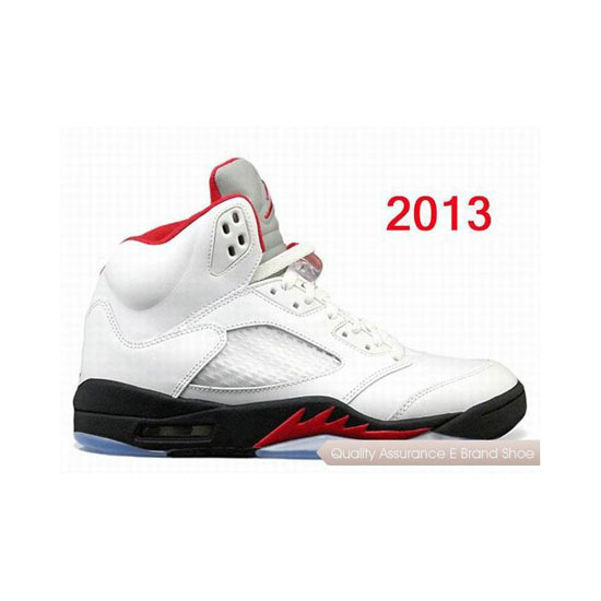 Nike Air Jordan 5 Retro Fire Red White/Black Sneakers