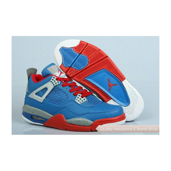 Nike Air Jordan 4 Retro Jumpman of Steel Sneakers