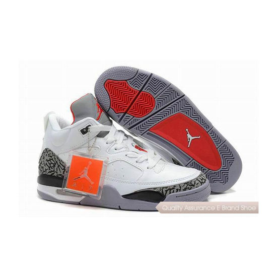 Nike Jordan Son of Mars Low White/Cement-Varsity Red Sneakers