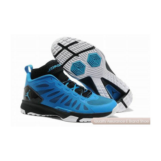 Nike Jordan Trunner Dominate Pro Neon Turquoise/Black-White Sneakers