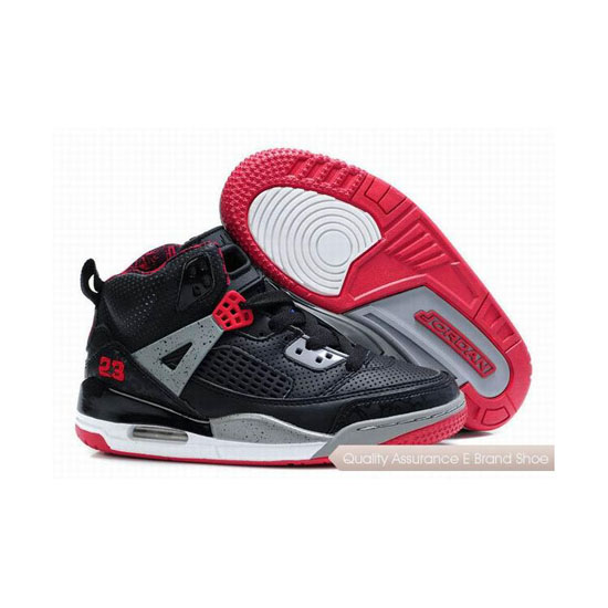 Nike Kids Jordan Spizike Black Red Sneakers