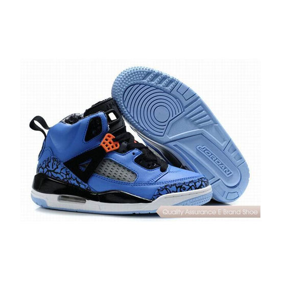 Nike Kids Jordan Spizike Blue Black Sneakers