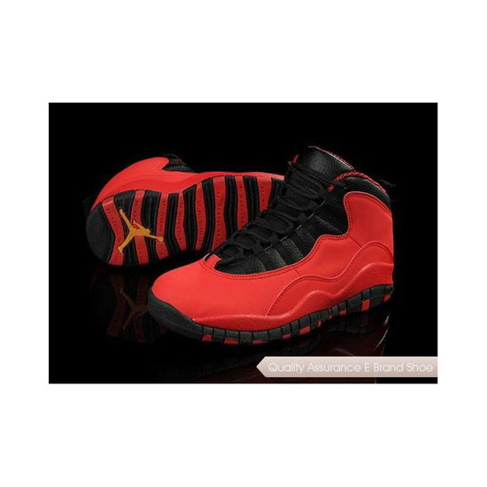 Nike Air Jordan 10 Retro Fusion Red Sneakers