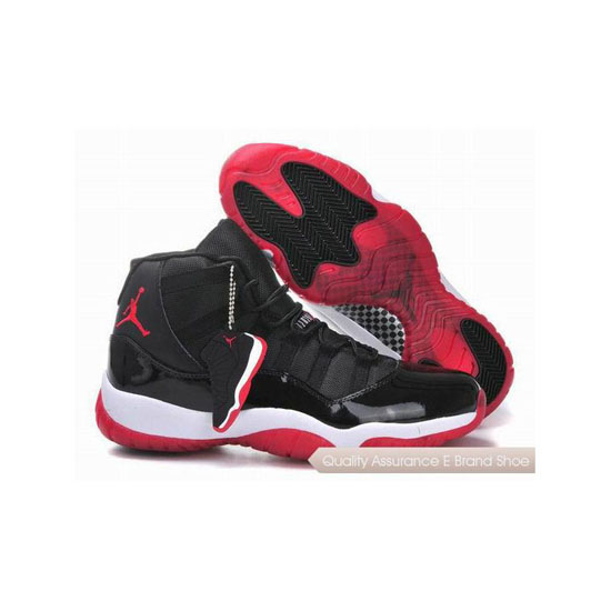 Nike Air Zoom In Jordan 11 Black/Varsity Red-White Sneakers