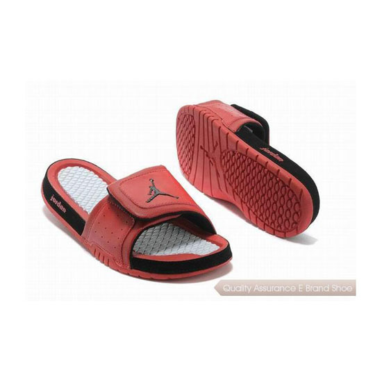Nike Womens Jordan Hydro 2 Slide Gym Red/Black Sneakers
