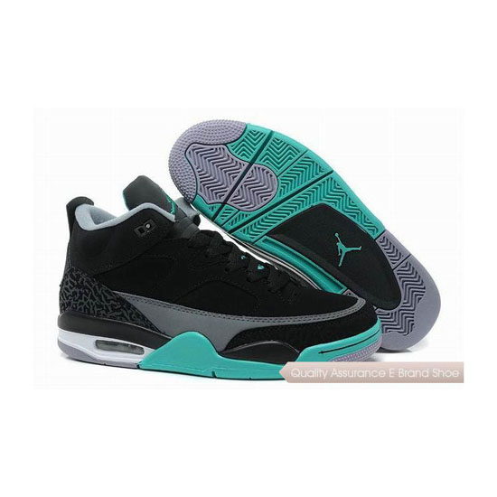 Nike Jordan Son of Mars Low Green Glow Sneakers
