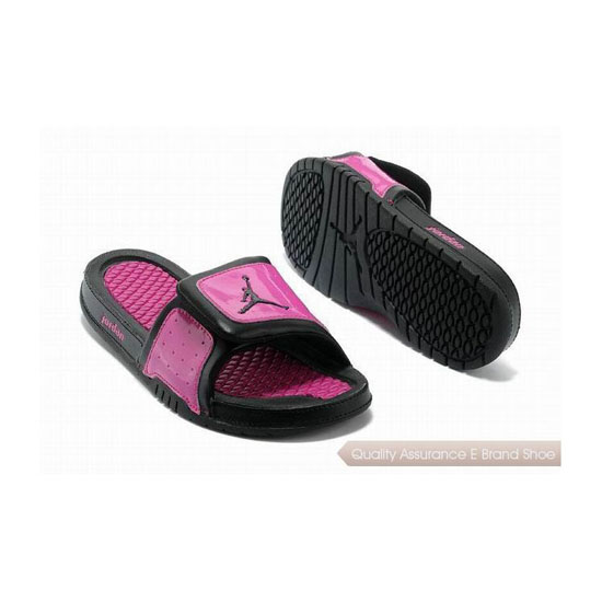 Nike Womens Jordan Hydro 2 Slide Voltage Cherry/Black Sneakers