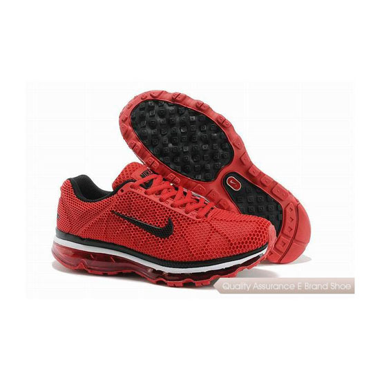 Nike Air Max 2011 Mens All Red Sneakers