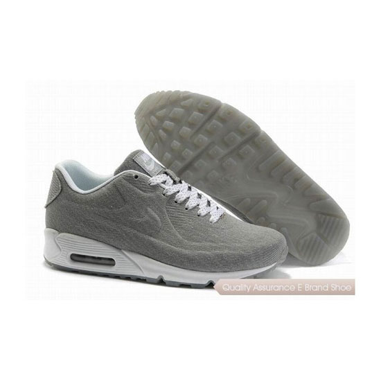 Nike Air Max 90 HYP PRM Unisex Gray White Sneakers