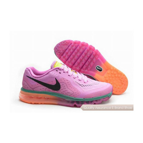 Nike Air Max 2014 Womens All Pink Sneakers