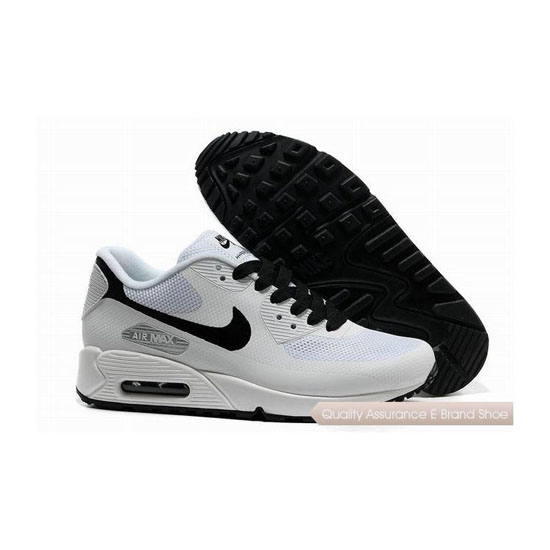 Nike Air Max 90 HYP FRM Mens White Black Sneakers