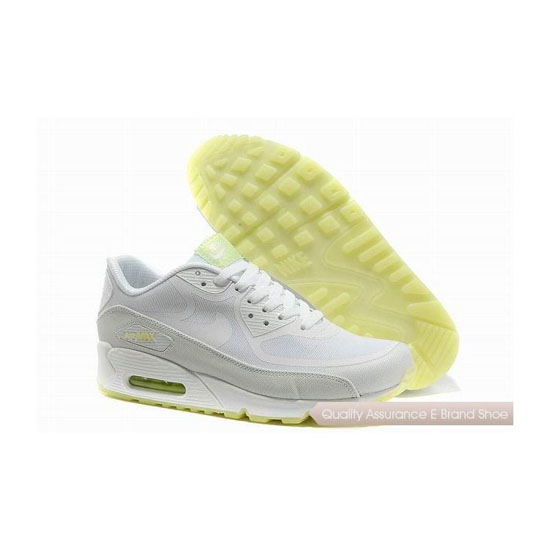 Nike Air Max 90 PREM TAPE Unisex All White Sneakers