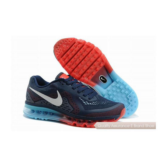 Nike Air Max 2014 Mens Black Red Sneakers