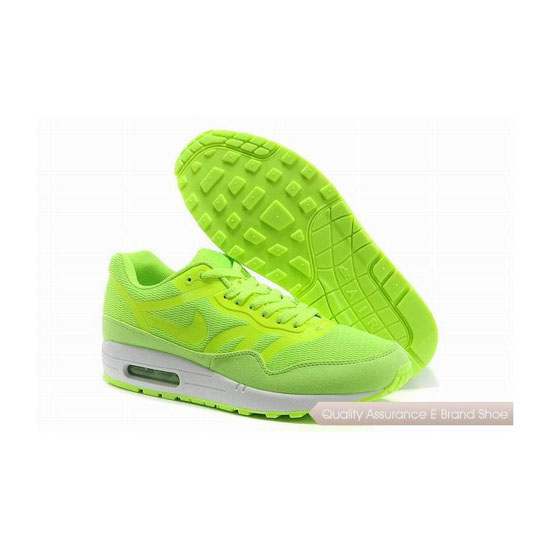 Nike Air Max 1 CMFT PRM TAPE Unisex All Green Sneakers