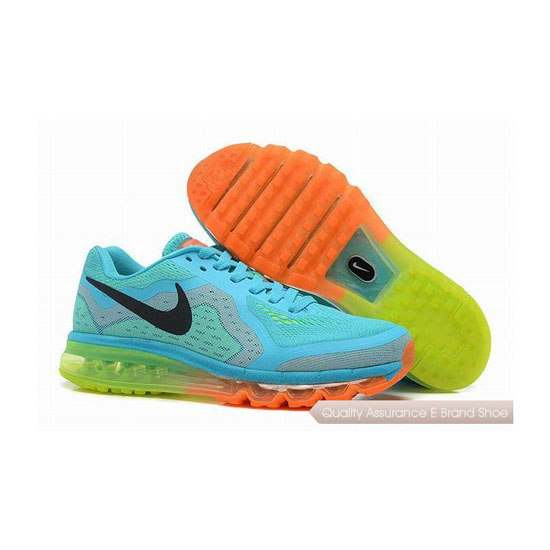 Nike Air Max 2014 Mens Blue Black Sneakers