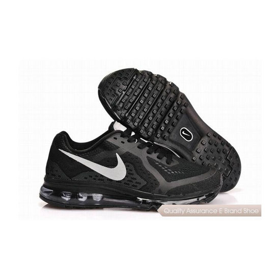 Nike Air Max 2014 Mens Blue Black White Sneakers
