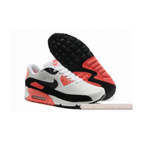 Nike Air Max 90 PREM TAPE SN Unisex White And Pink Sneakers