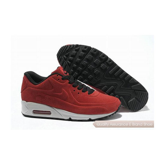 Nike Air Max 90 VT Unisex Red Black Sneakers