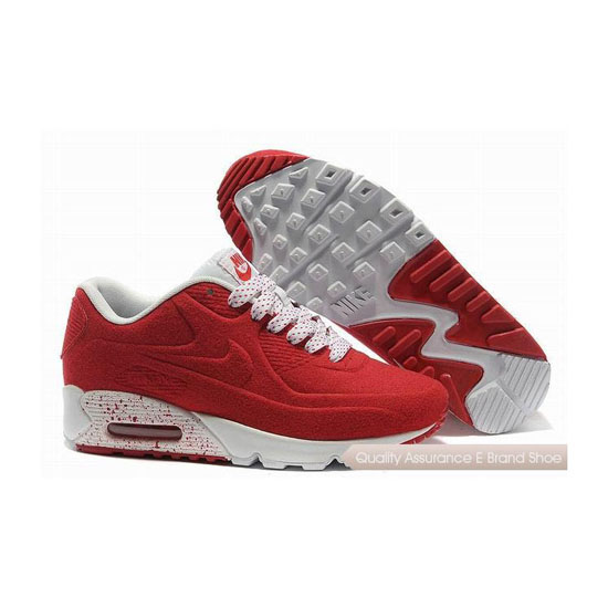 Nike Air Max 90 VT Unisex Red White Sneakers