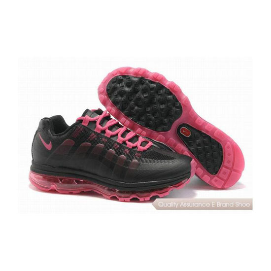 Nike Air Max 95 360 Womens Black Pink Sneakers