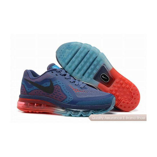 Nike Air Max 2014 Mens Blue Red Sneakers