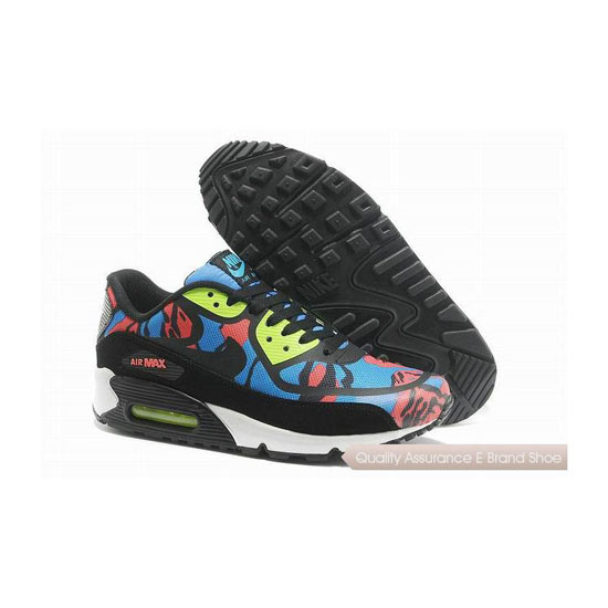 Nike Air Max 90 PREM TAPE SN Unisex Black And Blue Sneakers