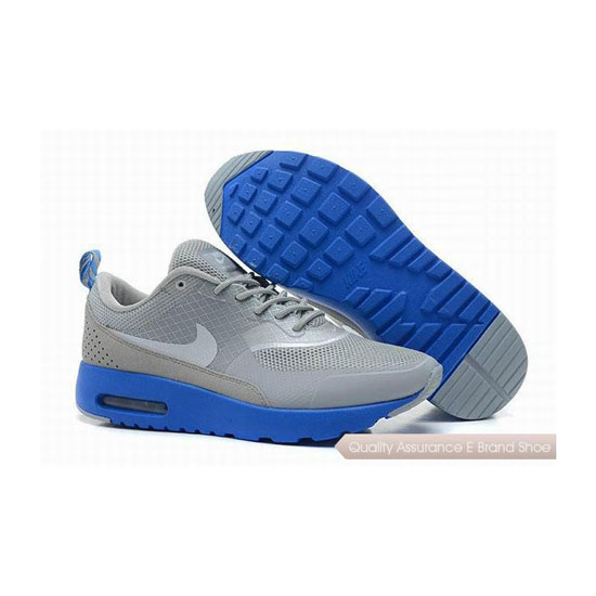 Nike Air Max 1 HYP PRM Unisex Gray Blue Sneakers