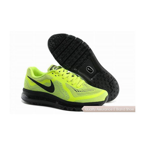 Nike Air Max 2014 Mens Yellow Black Sneakers