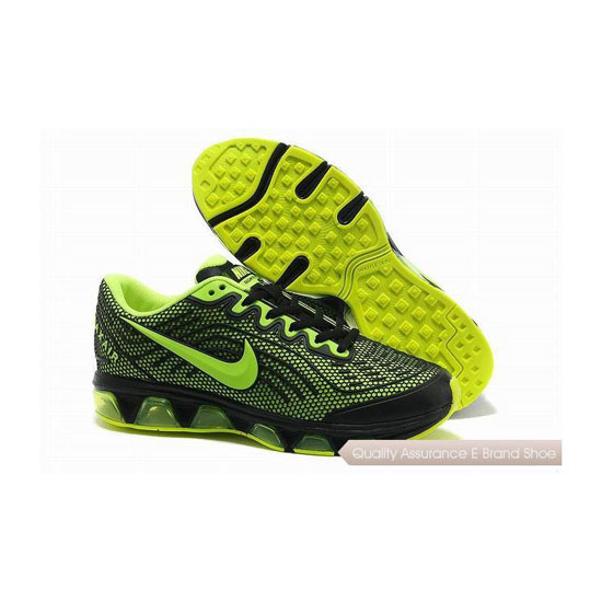 Nike Air Max Tailwind 6 Mens Black Green Sneakers