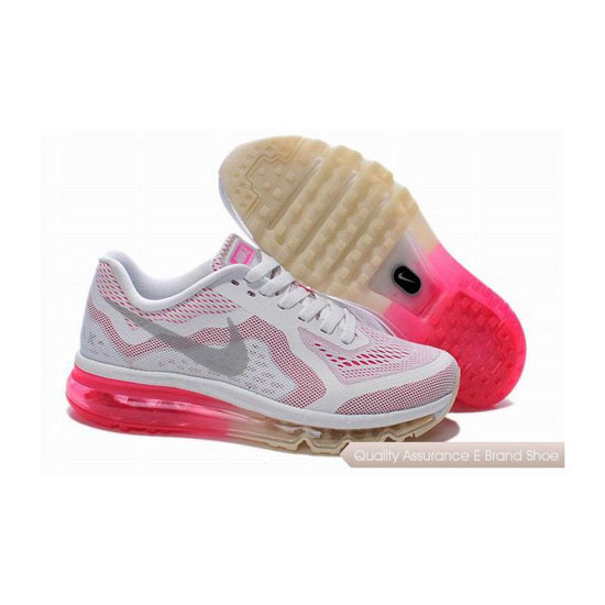 Nike Air Max 2014 Womens White Pink Sneakers