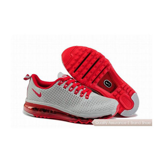 Nike Air Max 2013 NSW Womens White Red Sneakers