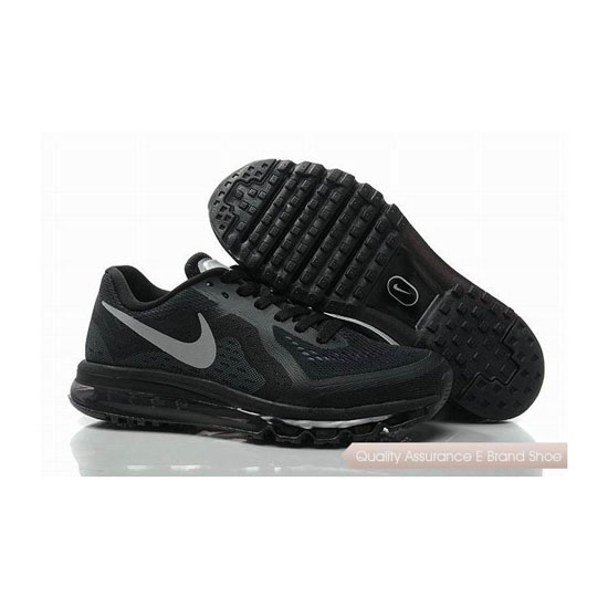 Nike Air Max 2014 Mens Black Gray Sneakers