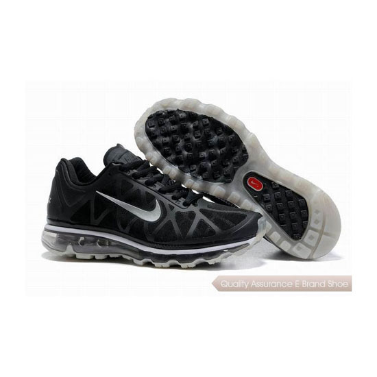 Nike Air Max 2011 Womens Black White Sneakers