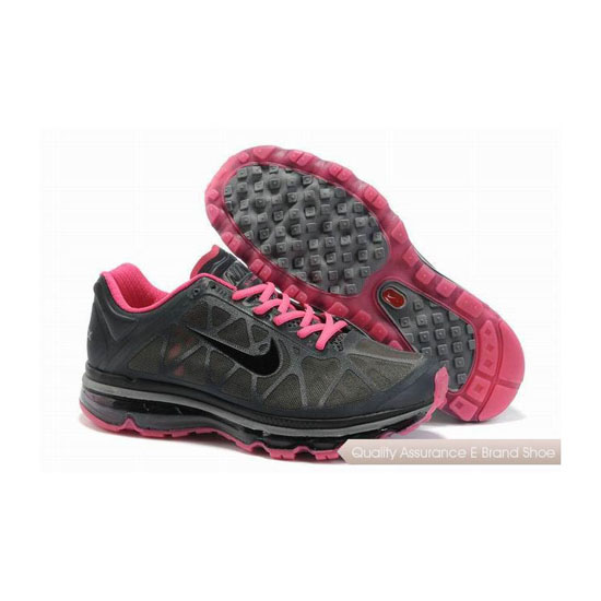 Nike Air Max 2011 Womens Gray Pink Sneakers