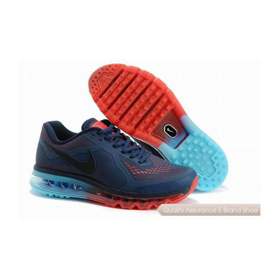 Nike Air Max 2014 KPU Mens Dark Blue Sneakers