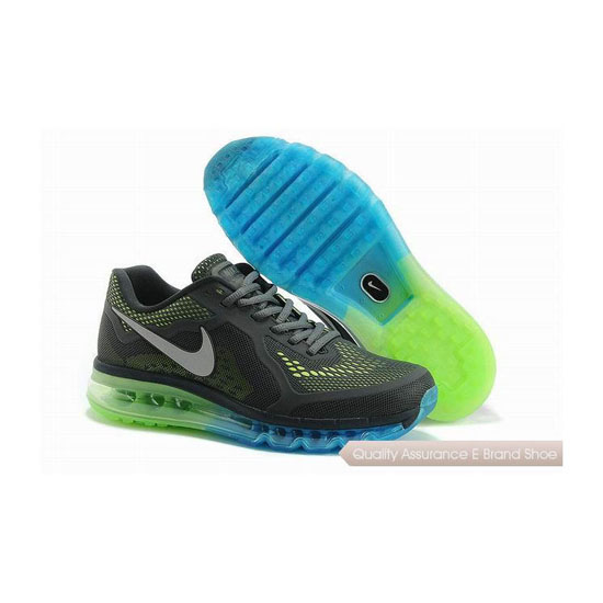 Nike Air Max 2014 KPU Mens Grat Green Sneakers